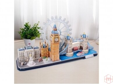 Revell - 3D Puzzle London Skyline, 00140 2