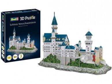 Revell - 3D Puzzle Neuschwanstein Castle, 00205