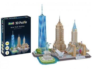 Revell - 3D Puzzle New York Skyline, 00142