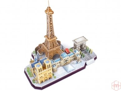 Revell - 3D Puzzle Paris Skyline, 00141 2