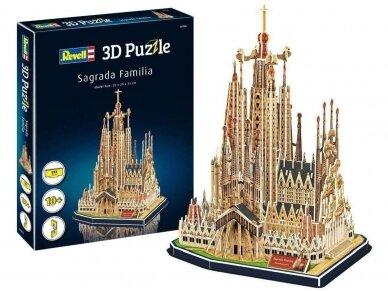 Revell - 3D Puzzle Sagrada Familia, 00206