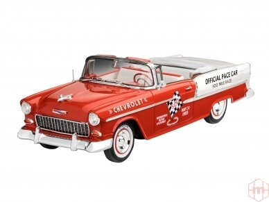 Revell - '55 Chevy Indy Pace Car, Mastelis: 1/25, 07686 2