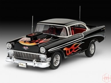 Revell - '56 Chevy Customs, Mastelis: 1/24, 07663 3