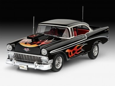Revell - '56 Chevy Customs, Mastelis: 1/24, 07663 3