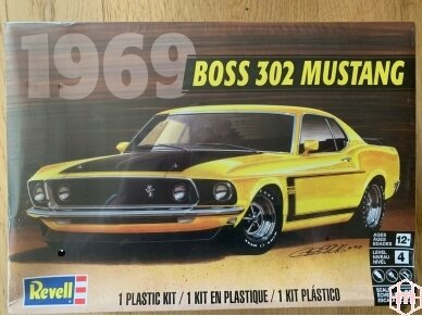 Revell - 69 Boss 302 Mustang, Scale: 1/25, 14313