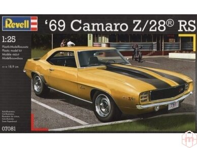 Revell - '69 Camaro Z/28, Mastelis: 1/25, 07081