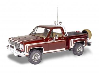 Revell - 1976 Chevy Sport Stepside Pickup 4X4, Mastelis: 1/24, 14486 2