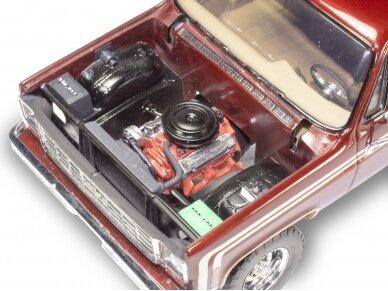 Revell - 1976 Chevy Sport Stepside Pickup 4X4, Mastelis: 1/24, 14486 3