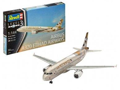 Revell - Airbus A320 Etihad Airways, Mastelis: 1/144, 03968 3