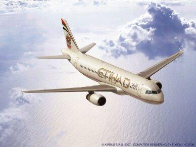 Revell - Airbus A320 Etihad Airways, Mastelis: 1/144, 03968 4