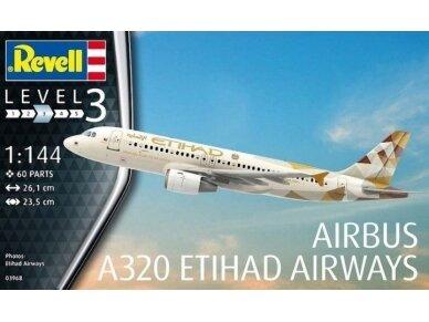 Revell - Airbus A320 Etihad Airways, Mastelis: 1/144, 03968