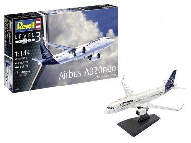 """Revell - Airbus A320 Neo """"Lufthansa"""", Mastelis: 1/144, 03942 2"""