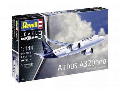 """Revell - Airbus A320 Neo """"Lufthansa"""", Mastelis: 1/144, 03942"""