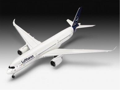 Revell - Airbus A350-900 Lufthansa New Livery, Mastelis: 1/144, 03881 2
