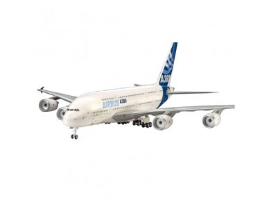 """Revell - Airbus A380 """"New Livery"""", Mastelis: 1/144, 04218 2"""