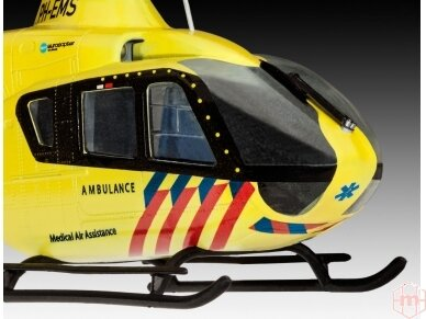 Revell - Airbus Helicopters EC135 ANWB dovanų komplektas, Mastelis: 1/72, 64939 4
