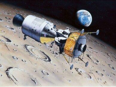 Revell - Apollo 11 Columbia & Eagle dovanų komplektas, Mastelis: 1/96, 03700 2