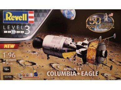 Revell - Apollo 11 Columbia & Eagle Model Set, Scale: 1/96, 03700