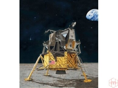 Revell - Apollo 11 Lunar Module Eagle Model Set, Scale: 1/48, 03701 2