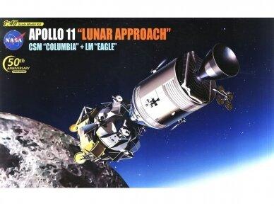 "Dragon - NASA Apollo 11 ""Lunar Approach"" CSM ""Columbia"" + LM ""Eagle"", Scale: 1/48, 11009"