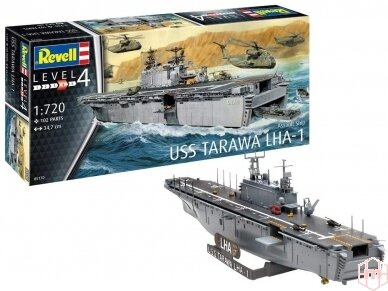 Revell - Assault Ship USS Tarawa LHA-1, Mastelis: 1/720, 05170