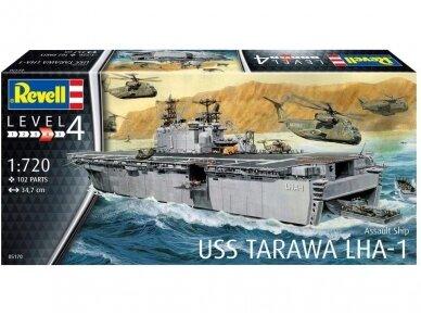 Revell - Assault Ship USS Tarawa LHA-1, Mastelis: 1/720, 05170 2