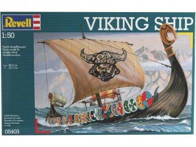 Revell - Viking Ship, Mastelis: 1/50, 05403 2