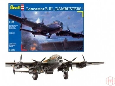 Revell - Avro Lancaster DAMBUSTERS, 1/72, 04295