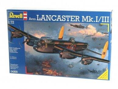 Revell - Avro Lancaster Mk.I/III, Mastelis: 1/72, 04300 2