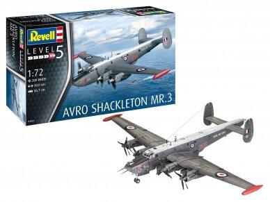 Revell - Avro Shackleton Mk.3, Mastelis: 1/72, 03873