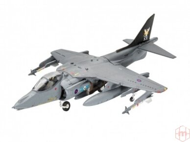 Revell - BAe Harrier GR. 7 dovanų komplektas, Mastelis: 1/144, 63887 2