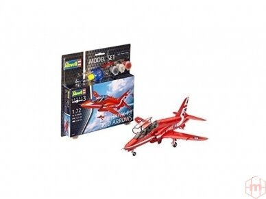 Revell - BAe Hawk T.1 Red Arrows dovanų komplektas, Mastelis: 1/72, 64921