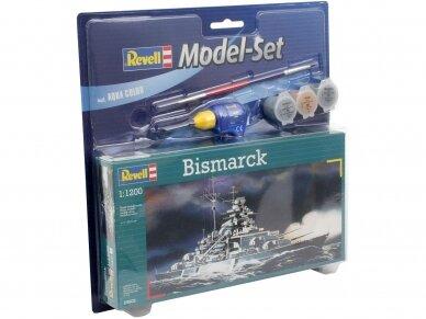Revell - Bismarck dovanų komplektas, Mastelis: 1/1200, 65802 2