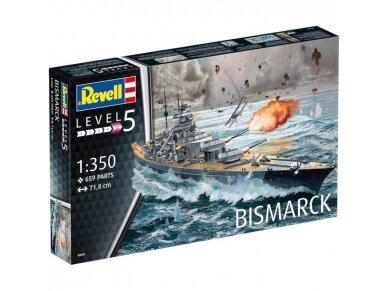 Revell - Bismarck, Mastelis: 1/350, 05040
