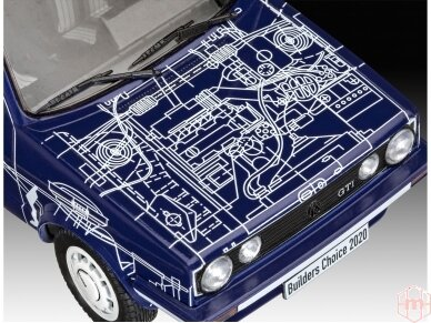 "Revell - VW Golf GTI ""Builders Choice"" Model Set, 1/24, 67673 2"
