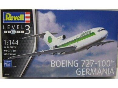 Revell - Boeing 727-100 Germania, Mastelis: 1/144, 03946