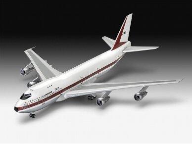 Revell - Boeing 747-100, 50th Anniversary dovanų komplektas, Mastelis: 1/144, 05686 3