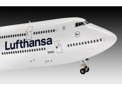 """Revell - Boeing 747-8 Lufthansa """"New Livery"""", Scale: 1/144, 03891 3"""