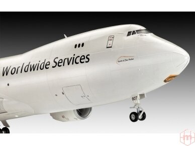 Revell - Boeing 747-8F UPS, Scale: 1/144, 03912 5