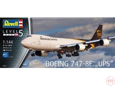 Revell - Boeing 747-8F UPS, Mastelis: 1/144, 03912