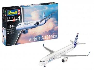 Revell - Airbus A321 Neo, Mastelis: 1/144, 04952