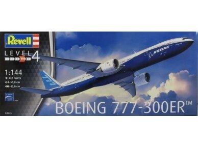 Revell - Boeing 777-300ER, Mastelis: 1/144, 04945
