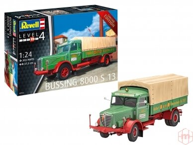 Revell - Büssing 8000 S13, Scale: 1/24, 07555