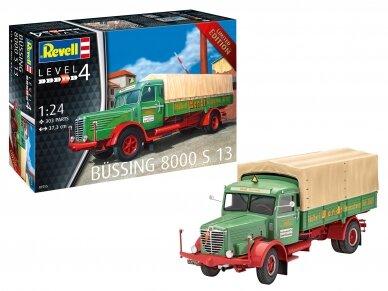 Revell - Büssing 8000 S13, Mastelis: 1/24, 07555