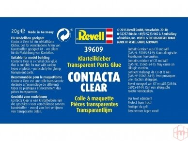 Revell - Contacta Clear klijai 20g, 39609 2