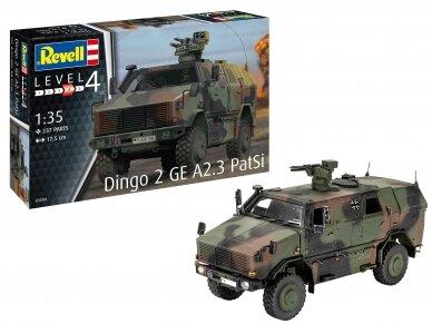 Revell - Dingo 2 GE A2.3 PatSi, Mastelis: 1/35, 03284 2