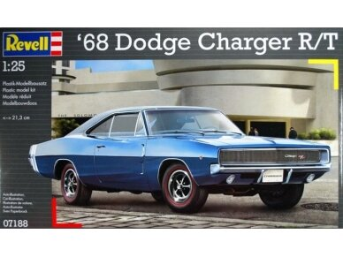 Revell - Dodge Charger R/T 1968, Scale: 1/25, 07188