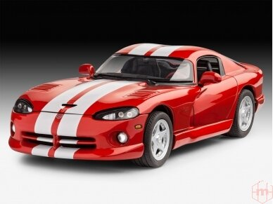Revell - Dodge Viper GTS, Mastelis: 1/25, 07040 2