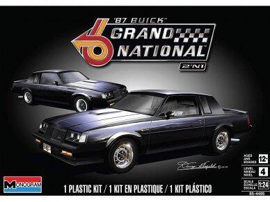Revell - '87 Buick™ Grand National™ 2'N1, Mastelis: 1/24, 14495