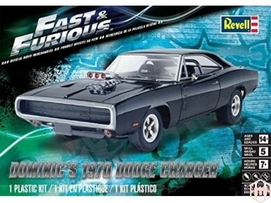Revell - Dominic'S '70 Dodge Charger, Mastelis: 1/25, 14319